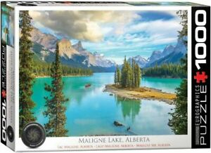 Eurographics 1000 Piece jigsaw Puzzle - Maligne Lake Alberta EG60005430