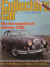 Collector's Car magazine 09/1980 featuring Alvis TC 21 road test, Triumph TR4