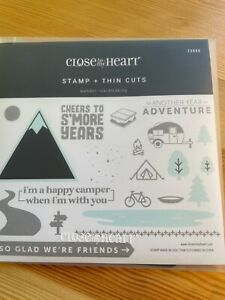 CTMH Close to My heart Acrylic Stamps & Thin Cuts Z3959 Wander - Cardmaking