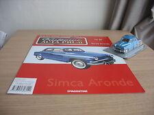 Simca Aronde scale 1/43 + MAGAZINE issue Nr.89 Kultowe AUTA PRL-u