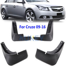 FRONT REAR FIT FOR 2009-2016 CHEVROLET CRUZE MUD FLAPS SPLASH GUARDS MUDGUARDS