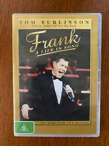 Frank A Life In Song DVD Region 4 LIKE NEW TOM BURLINSON
