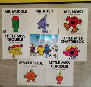 Mr Men & Little Miss x 8 Childrens Book  Bundle Books Christmas