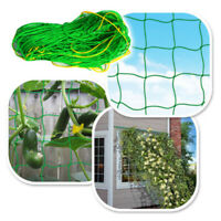 Plant Growing Support Net Fence Outdoor Lawn Green Nylon Trellis Kit Accessories