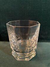 Verre à whisky en cristal de Sèvres modèle Rohan. Vintage !