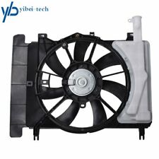US Radiator And Condenser Fan For 06-15 Toyota Yaris 08-14 Scion xD 1636121090