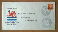 FDC E12 Watersnood 1953 Nederland