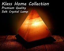 HIMALAYAN PINK SALT BIG PYRAMID TRIANGLE SHAPE CRYSTAL ROCK LAMP NATURAL SALT