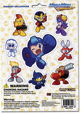 Megaman Powered Up Magnet Collection Official Licensed Ge8459