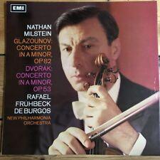 ASD 2365 Glazounov / Dvorak Violin Concertos / Milstein / De Burgos S/C