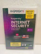 Kaspersky Internet Security 2014 For 3 Devices Software Computers Phones NEW