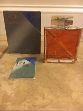 KL Homme by PARFUMS LAGERFELD After Shave Men's Splash 4.2 fl oz-NIB Worn RARE