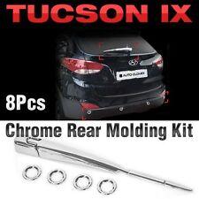 Chrome Rear Molding Kit Garnish Trim B721 For HYUNDAI 2010 - 2015 Tucson ix