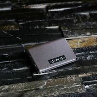 Personalised Leather Business Cardholder - Engrave a name, monogram or logo