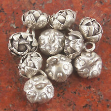 One Pendant silver pure Karen Hill tribe