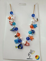 NWT Disney Parks Pixar Finding Dory Pier Findings Charm Necklace New