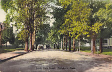 South Main Street ATTLEBORO Mass USA 1907-15 Rhode Island News Co. Postcard