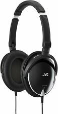 JVC Sealed Type Folding Headphone HA-S600-B Black New in Box