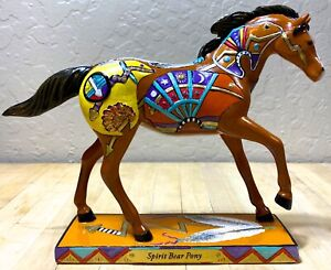 """Trail of Painted Ponies Embellished and Autographed """"Spirit Bear Pony"""" E1/0,669"""