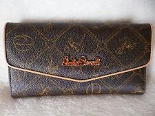 Damen Geldbörse Portemonnaie Geldbeutel Design Giulia Pieralli Italy Braun NEU