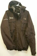NORTH FACE Snow Sports Hyvent Brown Men's Sz L Jacket Coat w/ Hood jfbb Emblem