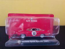 Modellino DIECAST Fabbri ALFA ROMEO Giulietta Sprint Speciale 1957 1/43  NIK36