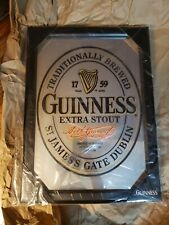 Viintage Guinness St. James's Gate Dublin - Official Bar Mirror Brand New
