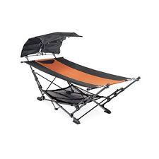 Zenithen Folding Portable Travel Hammock w/ Canopy