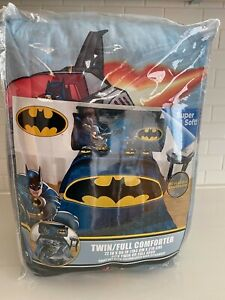 DC Comics Batman Twin/Full Comforter New in original bag Guardian 4 PC bed set