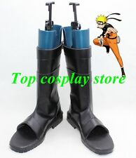 Uzumaki Naruto Uzumaki ninja Cosplay Shoes Boots black ver #15YJZ19