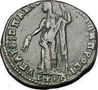 MACRINUS 217AD DEMETER Harvest Nicopolis ad Istrum Ancient Roman Coin i50932