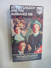 Butch Cassidy and the Sundance Kid (VHS) Paul Newman, Robert Redford