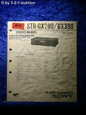 Sony Service Manual STR GX290 / GX390 Receiver (#0400)
