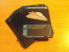 STAR WARS TCG SITH RISING COMPLETE SET OF COMMON CARDS