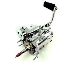 Polished 4-Speed Kicker 2.60:1 Transmission Trans Harley Big Twin Shovelhead FL