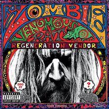 Venomous Rat Regeneration Vendor Rob Zombie CD Sealed New 2013