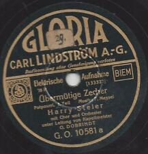 Harry Steier mit Orchester Otto Dobrindt : Übermütige Zecher