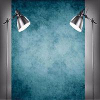 CHEAP! 5x7ft Dark Blue Photography Vinyl Background Photo Studio Props Backdrop