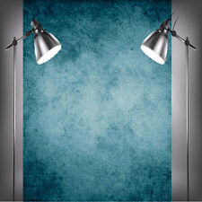 1,5 x 2,1 m NUOVO blu scuro FOTOGRAFIA VINILE Sfondo Fondale Foto Studio Props