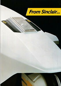 SINCLAIR C5 NEW POWER IN PERSONAL TRANSPORT. £399 BROCHURE.