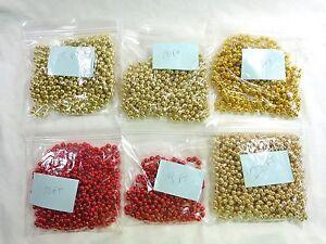 Christmas Bead Garland Acrylic Pearl Holiday Decor You Pick Length and Color