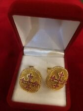 Christian Orthodox Sterling Silver 925 Cufflinks Handmade with Granada Stones