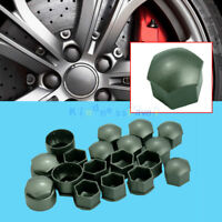 16x 17mm Wheel Lug Nut Bolt Cap 4x 25mm Locking Types Cover for VW Audi Skoda