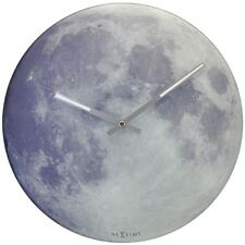 Nextime Blue Moon Wall clock Child's Watch Moon,watch glows in the dark,Glass ø