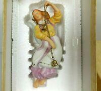 Hallmark Keepsake Christmas Ornament Classical Angel Porcelain 1984 QX459-1