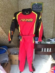 MARANELLO GO KART RACE SUIT CIK/FIA LEVEL 2 APPROVED WITH FREE GIFTS INCLUDED