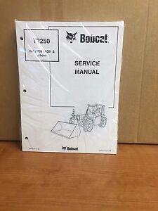 Bobcat T2250 Telescopic Handler Service Manual Shop Repair Book Part # 6986740