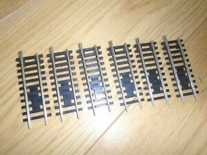 Collection of X918 Nickel Silver Turntable Track Sections for Hornby OO Gauge