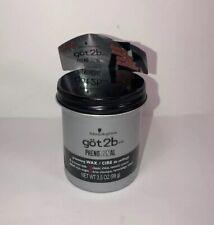 Mens Hair Product Got 2B Phenomenal Men's Grooming Wax 3.5 Ounce New