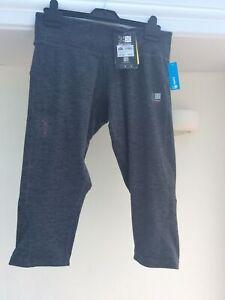 Ladies New Karrimor Running Capri Trousers Size 14L